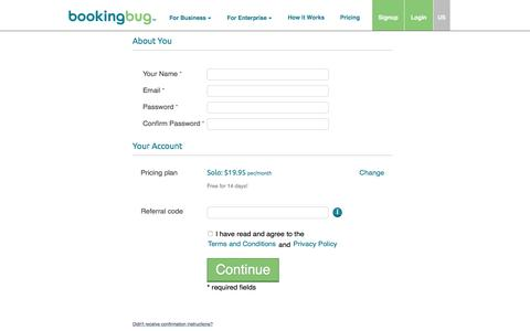BookingBug Online Booking System, Scheduling and Appointment Software