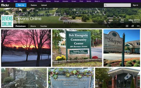 Screenshot of Flickr Page flickr.com - Flickr: devensonline's Photostream - captured Oct. 23, 2014