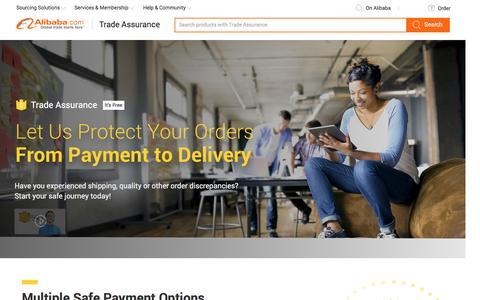 Trade Assurance – Alibaba.com