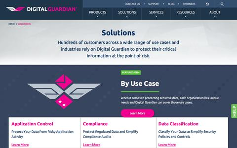 Information & Data Security Solutions | Digital Guardian