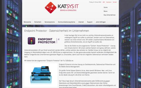 Screenshot of Press Page katsys-it.at - katsys-it.at - News - captured Feb. 12, 2016
