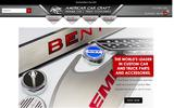 New Screenshot American Car Craft's Custom Stainless Steel Accessories Home Page