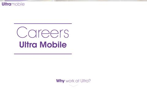 Ultra Mobile - Careers