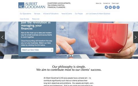 Home | Albert Goodman | Chartered Accountants