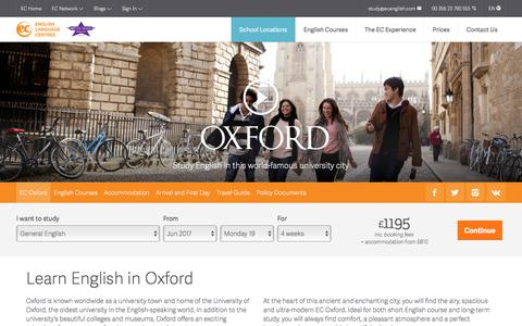 Learn English in Oxford – ESL Oxford English Schools