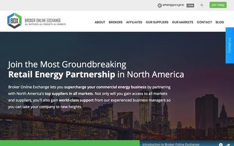 Broker Online Exchange - Your Retail Energy Partner