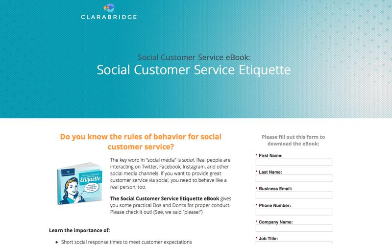 eBook: Social Customer Service Etiquette