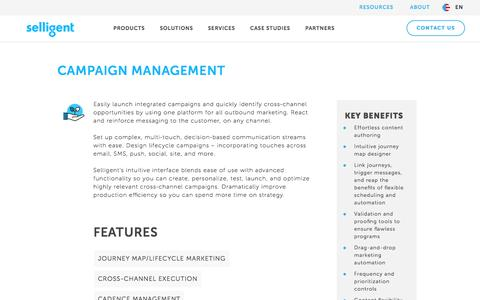 Campaign Management | Selligent