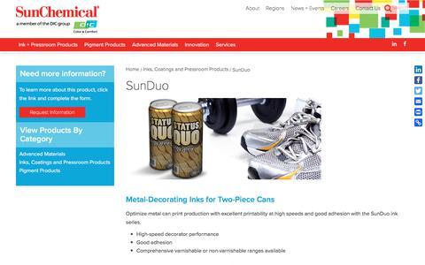 SunDuo | Sun Chemical
