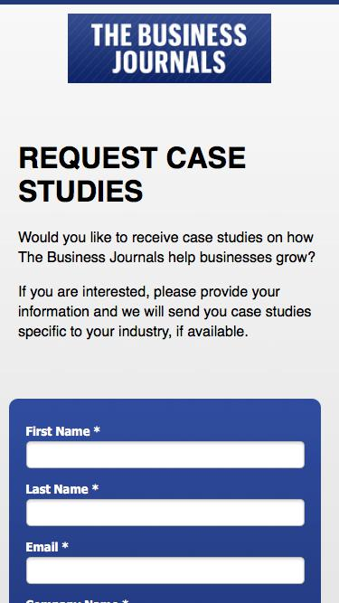 Request Case Studies