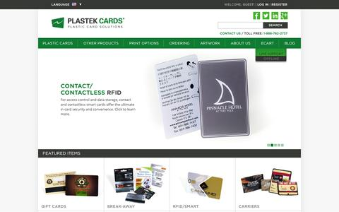 Plastic Card Printing | Business/Membership/Loyalty/Clear/Gift | Plastek Cards