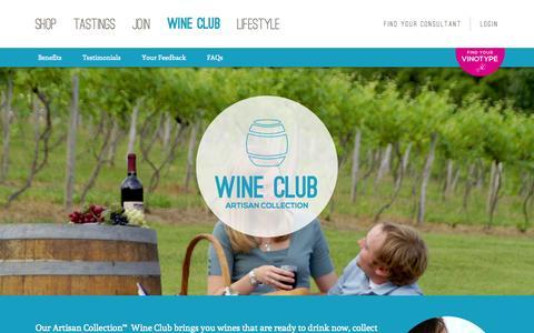 Screenshot of FAQ Page wineshopathome.com - Wine Club - WineShop At Home - captured Sept. 17, 2014