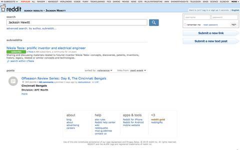 reddit.com: search results - Jackson Hewitt