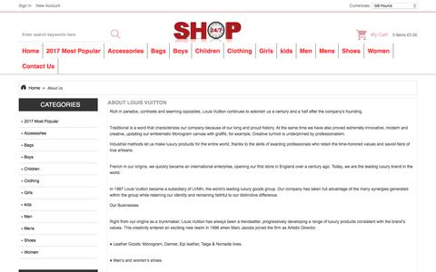 Screenshot of About Page allparnone.co.uk - About Us : Store Clothes, Clearance Flat Shoes, Online Mules / Clogs - captured Oct. 10, 2017
