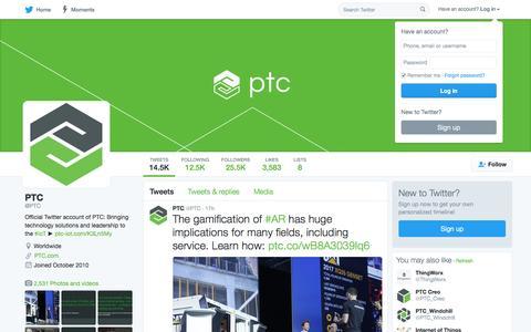 PTC (@PTC) | Twitter