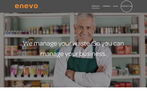Enevo | Waste Services