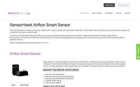 SensorHawk Airflow Smart Sensor - Enviromon