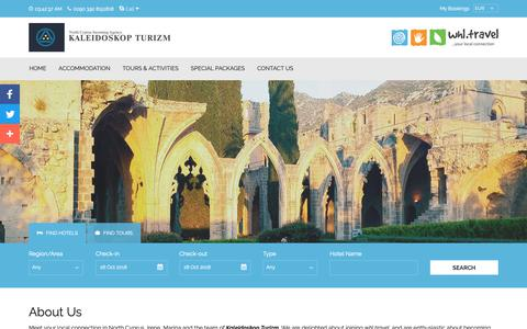 Screenshot of About Page north-cyprus.travel - North Cyprus Travel Team | North Cyprus Tourism Office - captured Oct. 23, 2018