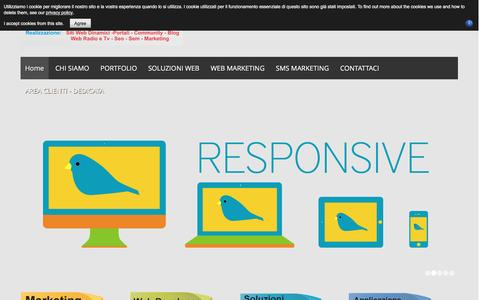 Screenshot of Home Page Privacy Page iltuosito.eu - ILTUOSITO.EU - Home - captured May 31, 2016