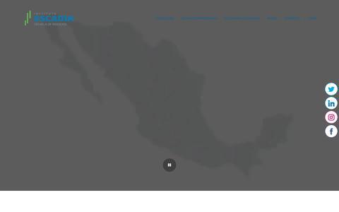 Screenshot of Home Page escadia.mx - Instituto Escadia – Escadia - captured June 17, 2019