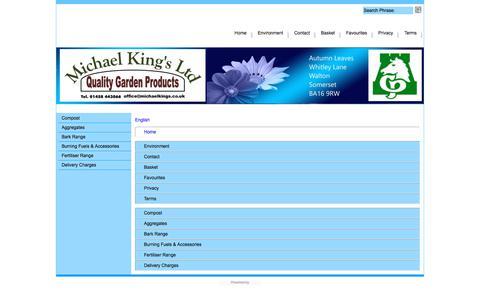 Screenshot of Site Map Page Menu Page michaelkings.co.uk - Map - captured Jan. 27, 2018