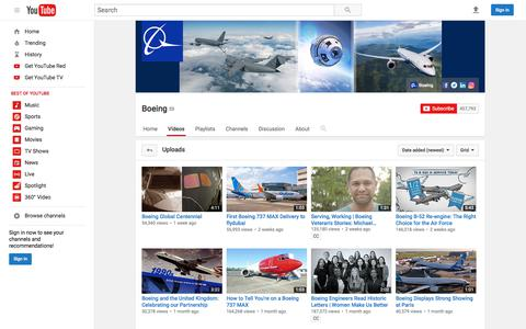 Boeing  - YouTube