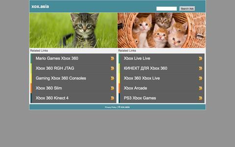Screenshot of Home Page xox.asia - xox.asia - captured Feb. 4, 2016