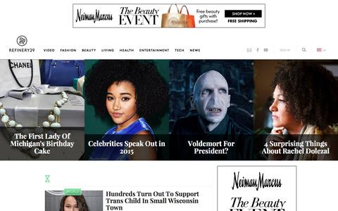 Screenshot of Team Page refinery29.com - Interviews, Profiles Of Most Interesting People - captured Feb. 15, 2016