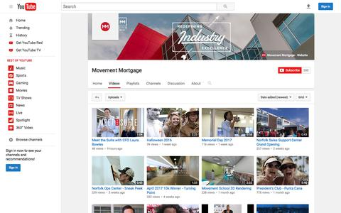 Movement Mortgage  - YouTube