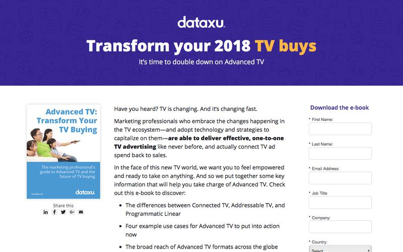Advanced TV: Transform your TV buying