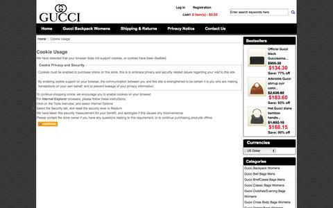 Screenshot of Login Page word-wide.us - Cookie Usage : Gucci online for sale in discount, Gucci Bags online - captured Oct. 7, 2014