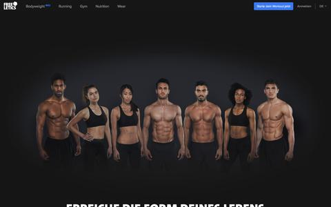 Intensive Workouts & individuelles Training | FREELETICS