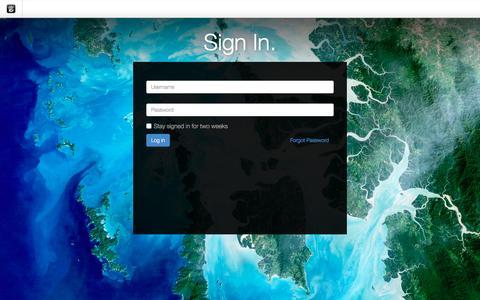 Screenshot of Login Page drgok.com - Delaware Resource Group :: Login - captured Jan. 3, 2016