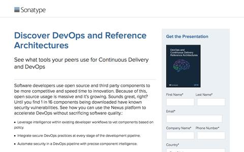 DevOps and Continuous Delivery - Vol. 1 | Sonatype