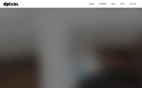 Screenshot of Home Page dpixel.it - dPixel - captured Sept. 30, 2014
