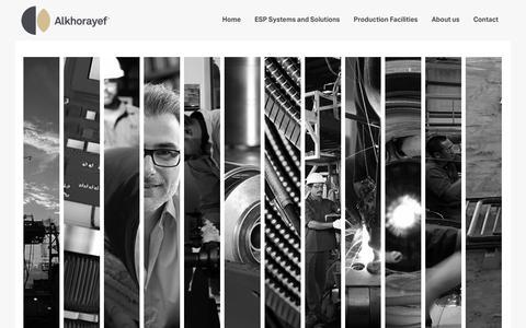 Screenshot of Home Page alkhorayefpetroleum.com - Alkhorayef Petroleum | Home - captured Nov. 12, 2018