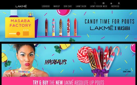 Brand Store - Lakmé India
