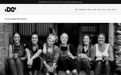 Screenshot of Team Page thedolectures.com - The DO Lectures - Team - captured Oct. 1, 2018