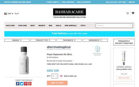 Dermalogica             Phyto Replenish Oil 30mL              - Dubai Abu Dhabi UAE