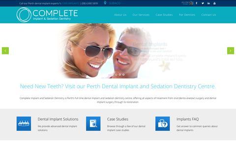 Dental Implants at Perth Implant and Sedation Dentistry