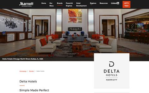 Screenshot of Developers Page marriott.com - Delta Hotels - Marriott Hotels Development - captured Sept. 14, 2019