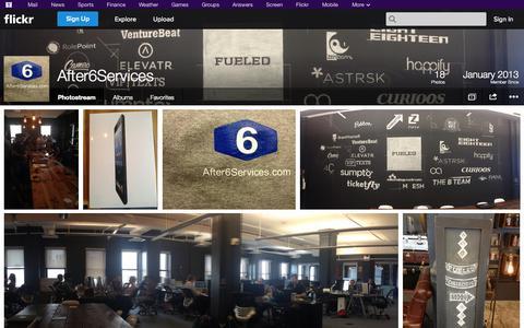 Screenshot of Flickr Page flickr.com - Flickr: After6Services' Photostream - captured Oct. 23, 2014
