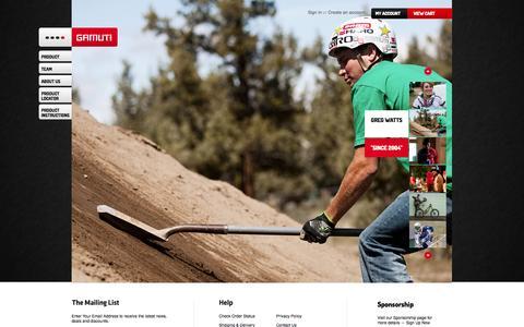 Screenshot of Team Page gamutusa.com - Team - captured Oct. 22, 2014