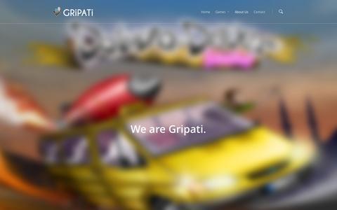 Screenshot of About Page gripati.com - About Us | Gripati - captured Nov. 2, 2014