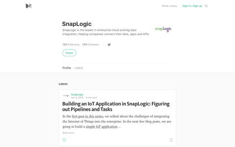SnapLogic – Medium