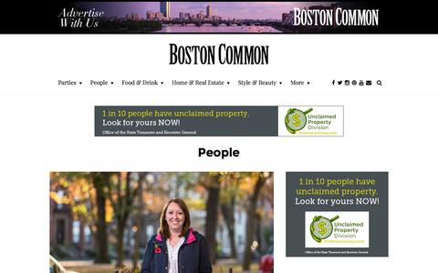 Screenshot of Team Page bostoncommon-magazine.com - Boston's Top Celebrities and Notable People - captured Jan. 7, 2016