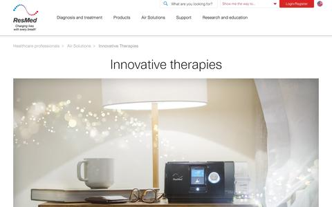 Innovative Therapies