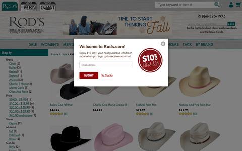 Kids' Western Cowboy Hats