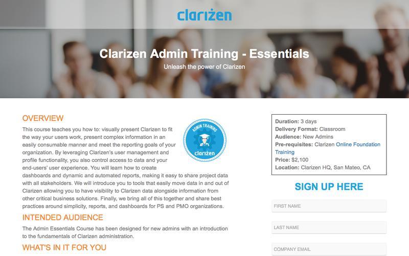 Clarizen Admin Training - Essentials