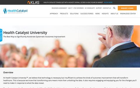 Health Catalyst University™